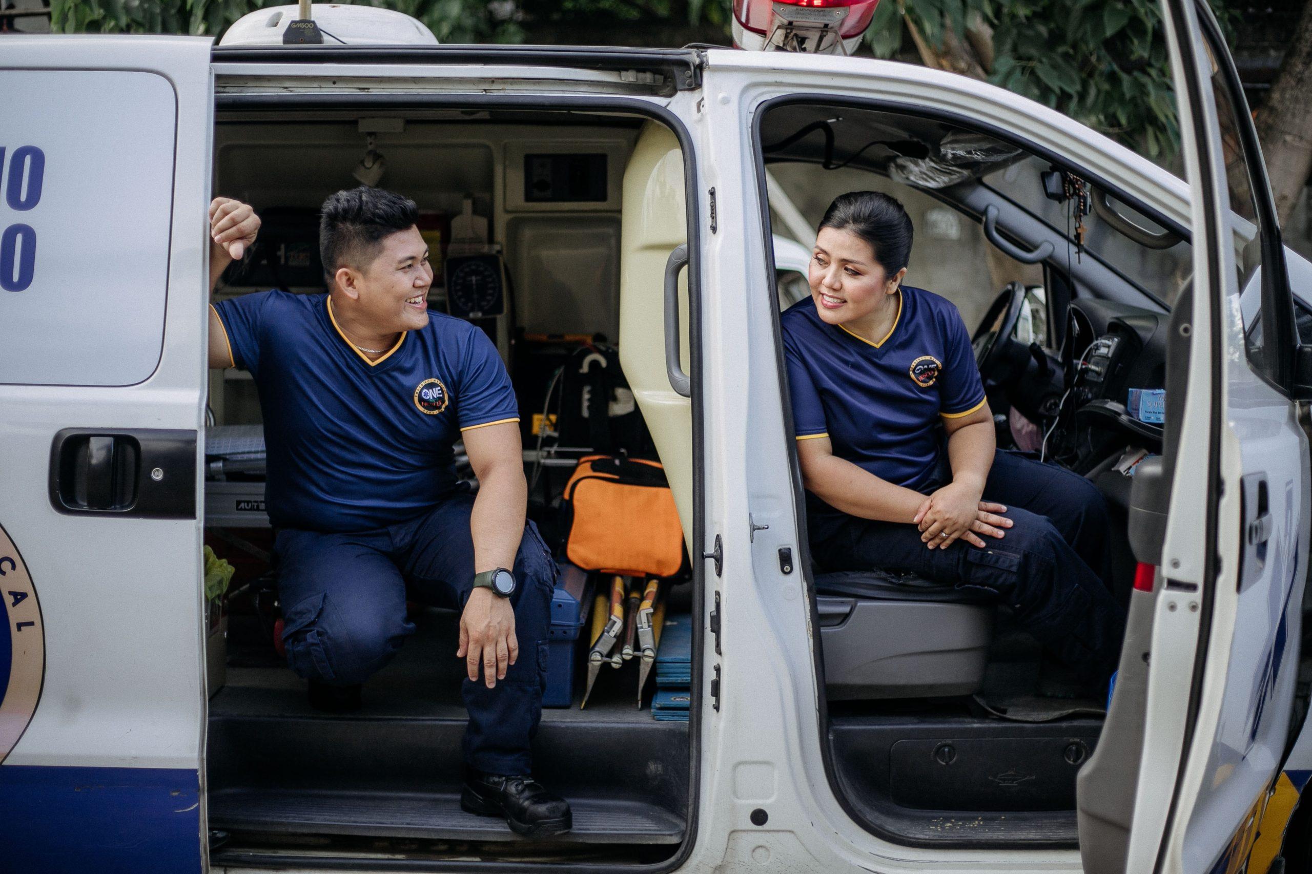 Ambulanciers val d'oise 95